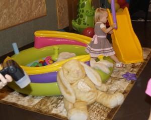 сухой бассейн для дома_ манеж с шариками для детей
