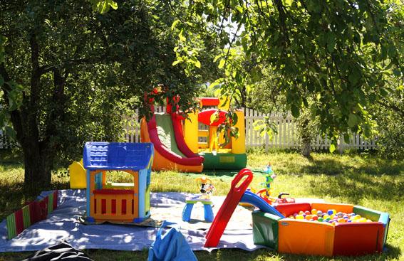 детская выездная игровая комната, горка и бассейн с шариками